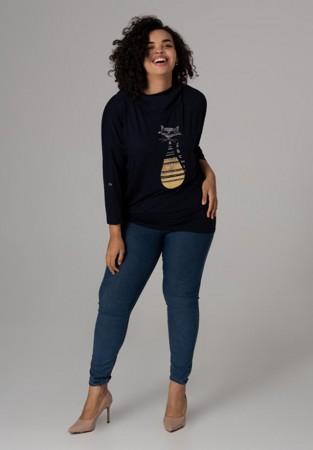 Przewiewna bluza z kapturem