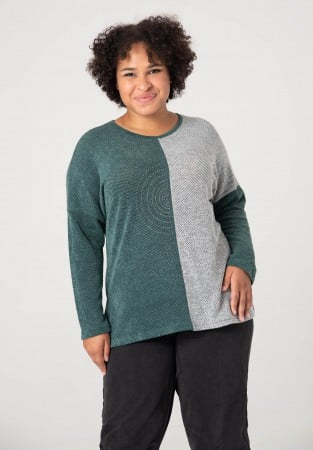 Bluza plus size w dwóch kolorach